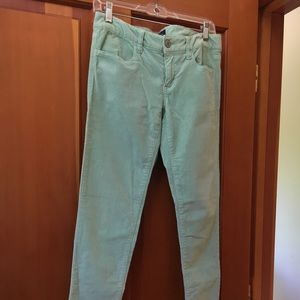 American Eagle Jegging in Mint, Size 6